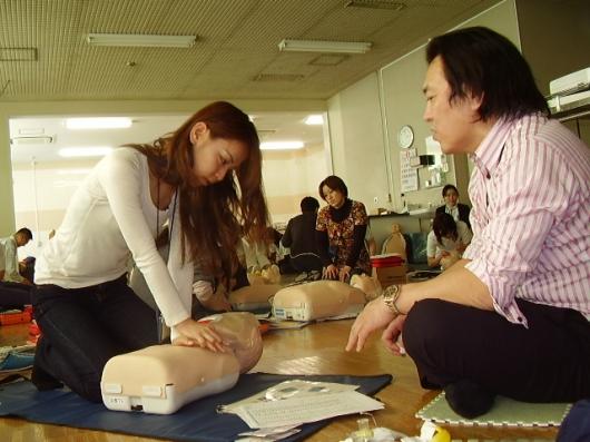 ハートセイバーAEDコース(2009/3/21)