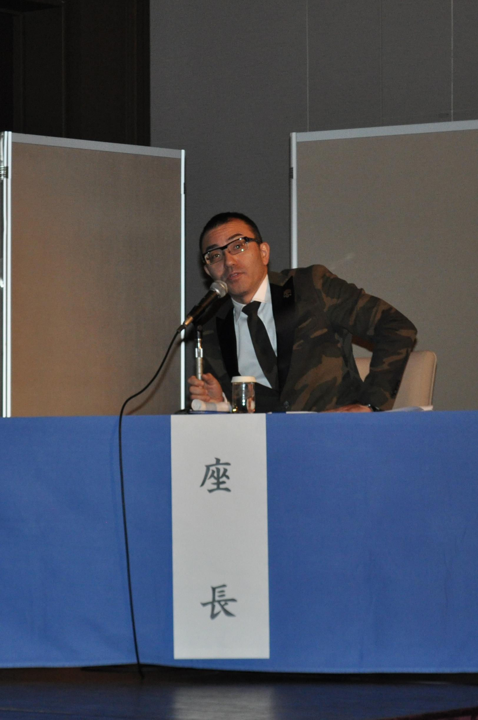第Ⅱ部の座長:時吉聡介病棟医長