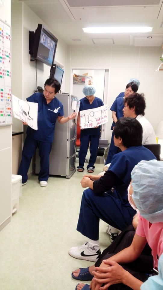 平和病院脊椎外科センター田村睦弘先生来院