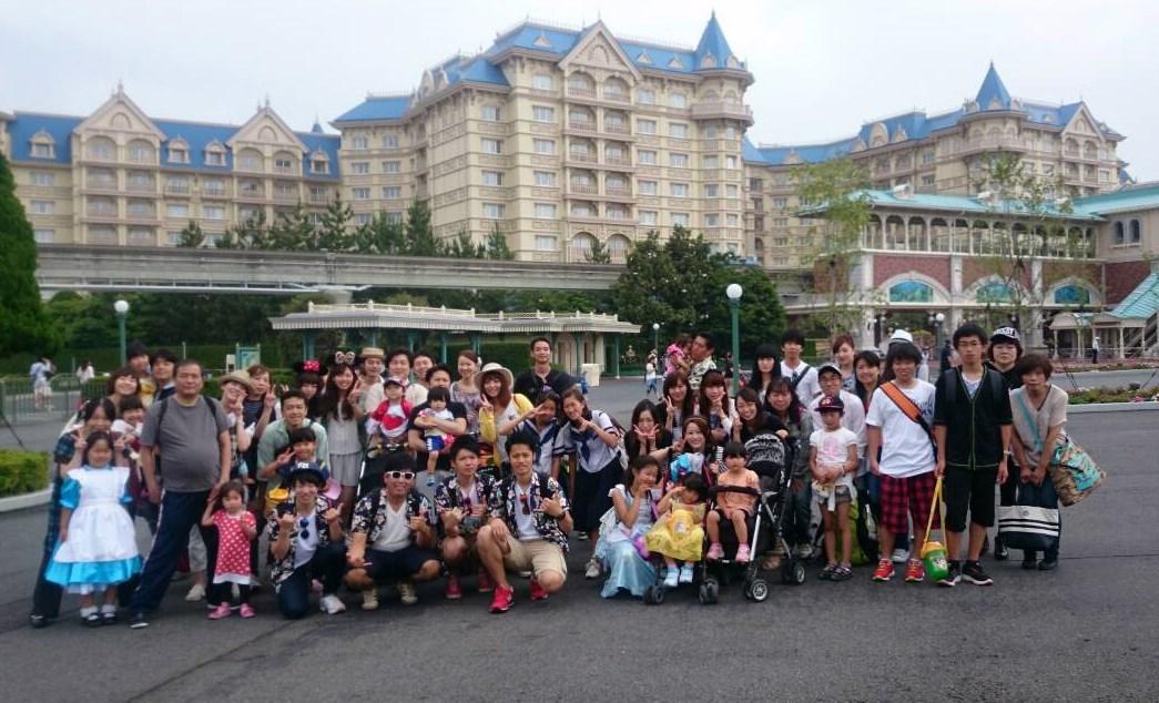 ディズニー旅行 2015
