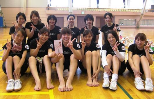 山梨県病院協会主催バレーボール大会 2009