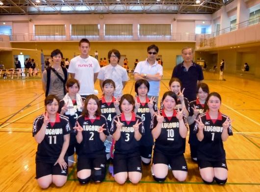 山梨県病院協会主催バレーボール大会 2011