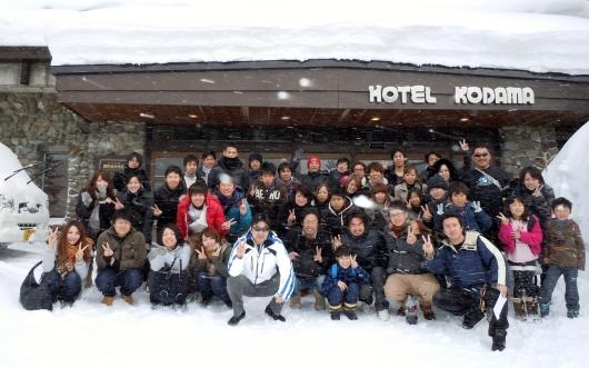 スキー旅行2012