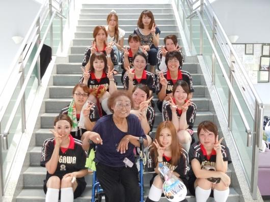 山梨県病院協会主催バレーボール大会 2012