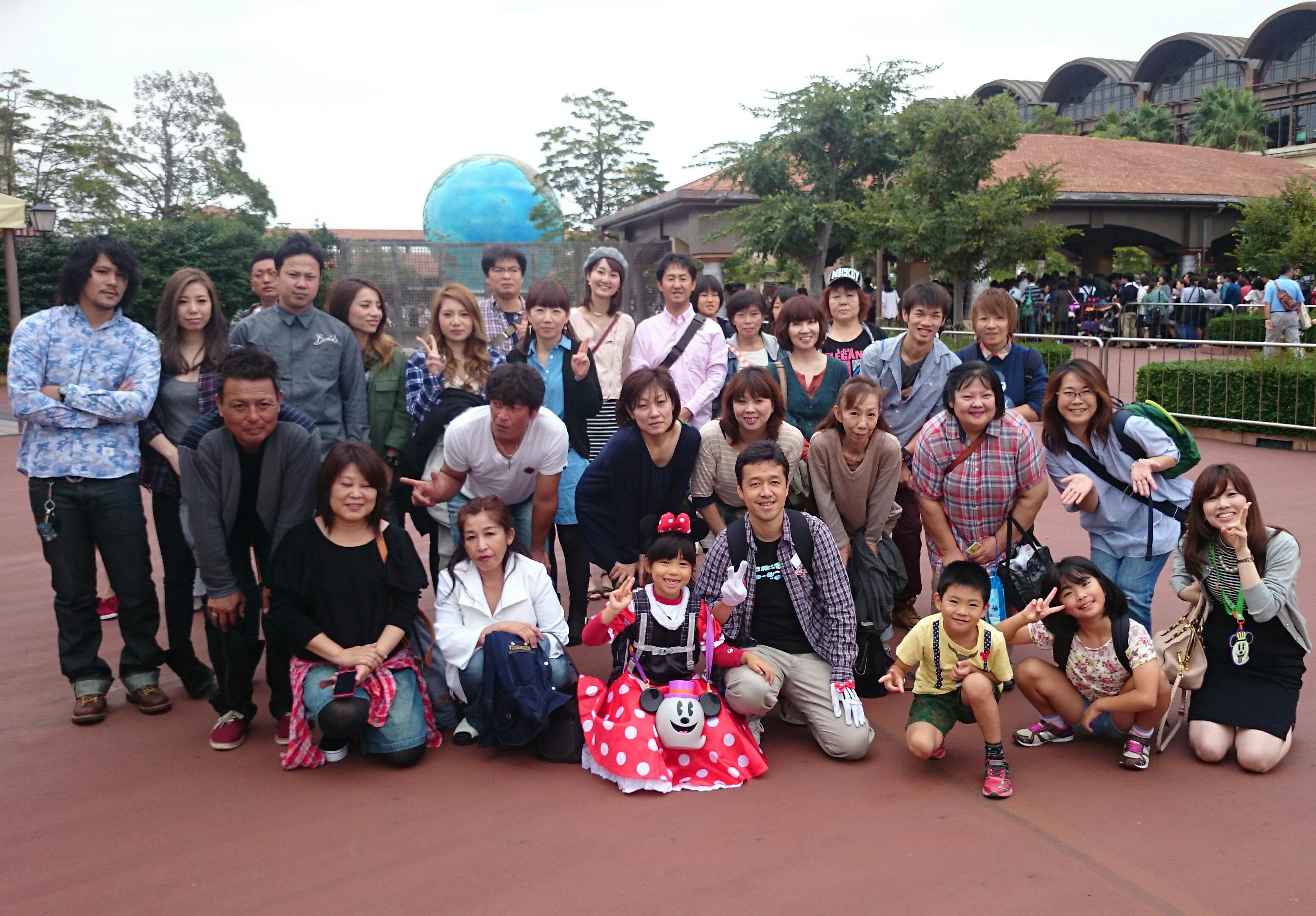 ディズニー旅行 2014